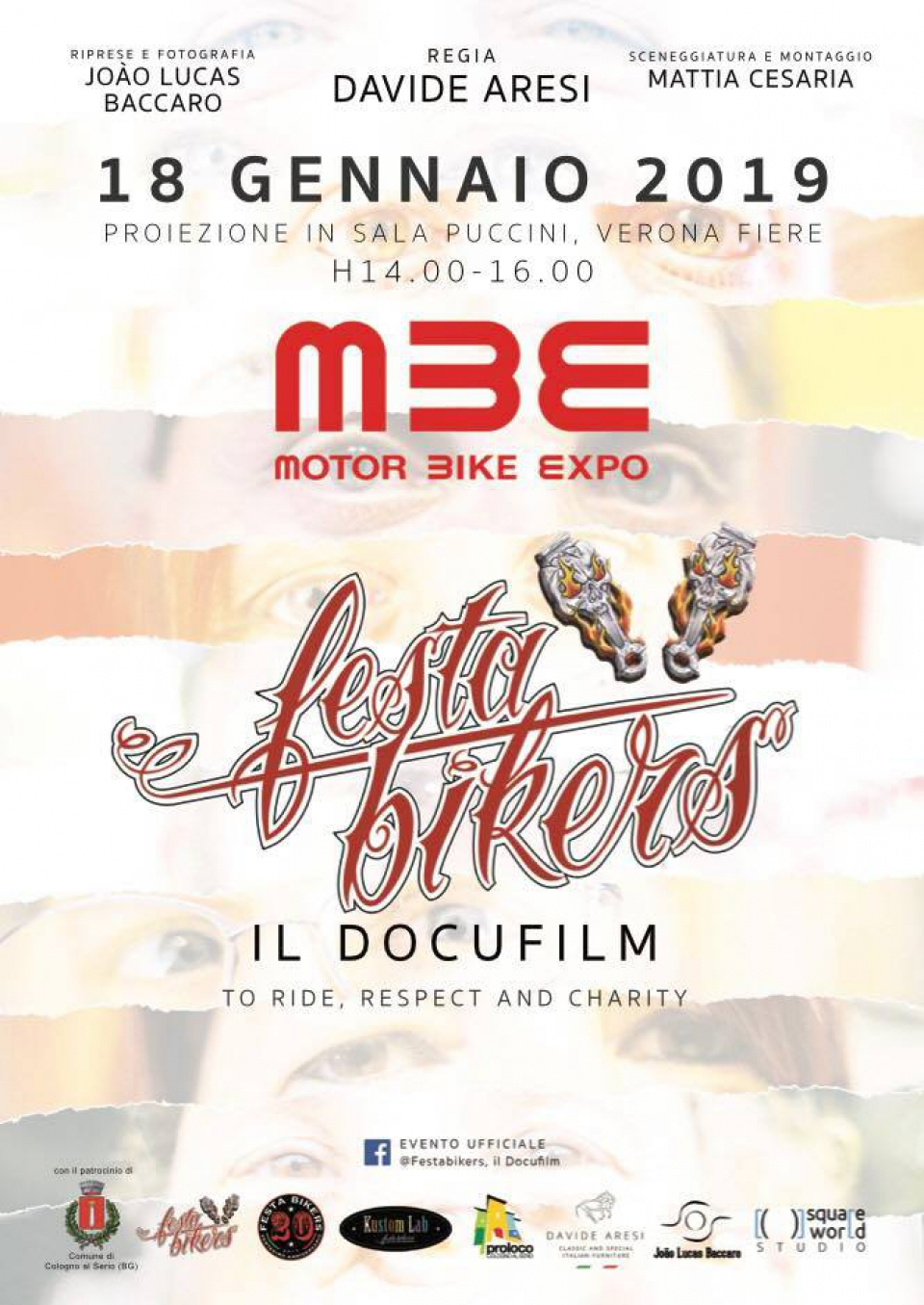 """Festa Bikers il Docufilm"" a Motor Bike Expo 2019"