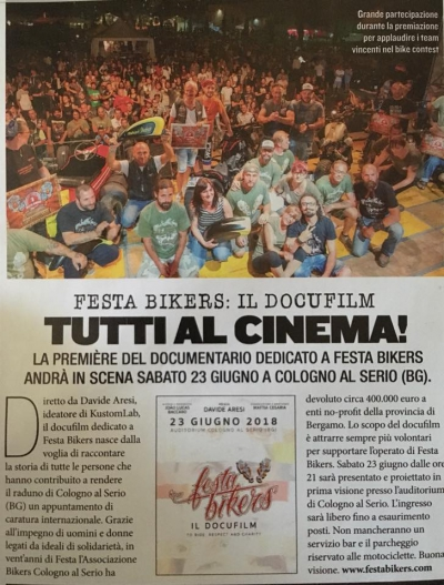 Festa Bikers, il Docufilm